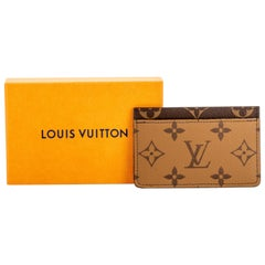 New in Box Louis Vuitton 2 Tone Credit Card Case
