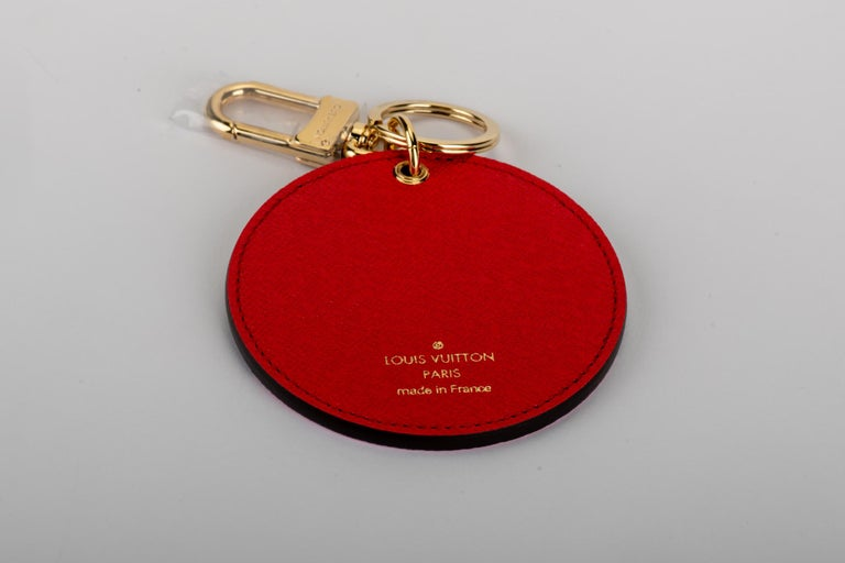 Louis Vuitton Christmas 2019 limited edition Paris keychain/bag charm. Comes with original dust cover and box.