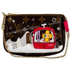 New in Box Louis Vuitton Christmas Limited Edition Megeve Pouchette Bag