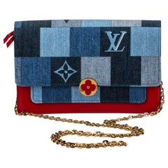 New in Box Louis Vuitton Denim Crossbody Bag