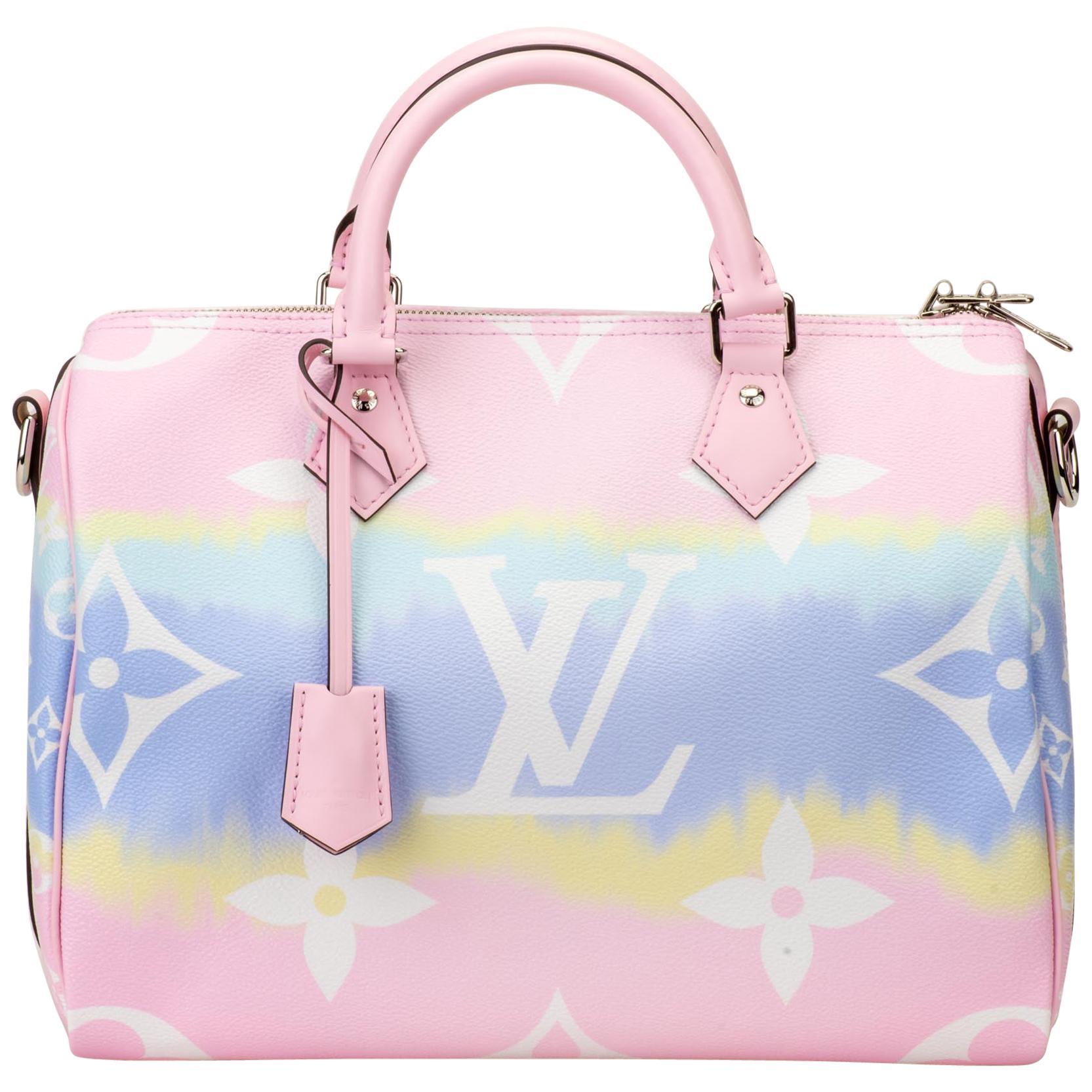 New in Box Louis Vuitton Escale Speedy 30 Bag
