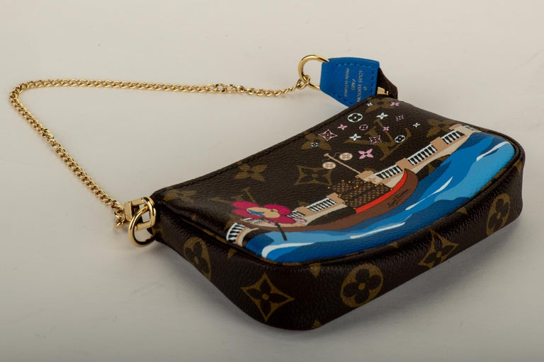 New in Box Louis Vuitton Limited Edition Christmas Venice Pouchette bag In New Condition For Sale In West Hollywood, CA