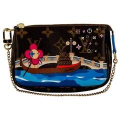 New in Box Louis Vuitton Limited Edition Christmas Venice Pouchette bag