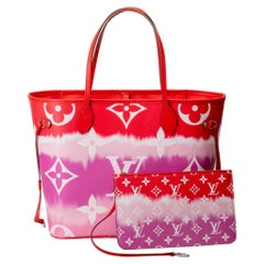 New in Box Louis Vuitton Limited Edition  Escale Red Neverfull Tote Bag