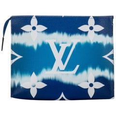 New in Box Louis Vuitton Limited Edition Escale Trousse Blue Bag