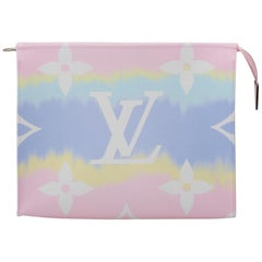New in Box Louis Vuitton Limited Edition Escale Trousse Pochette Pink