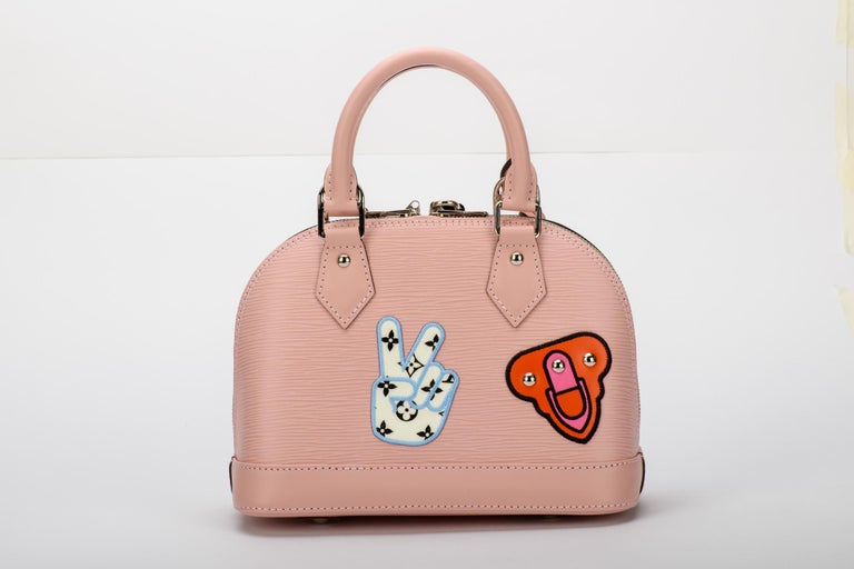 New in Box Louis Vuitton Limited Edition Pink Alma Stickers  In New Condition For Sale In Los Angeles, CA
