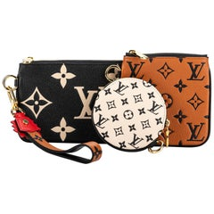 New in Box Louis Vuitton Limited Edition Pochette Trio Bag