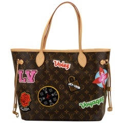 New in Box Louis Vuitton Limited Edition Stickers Neverfull Tote Bag