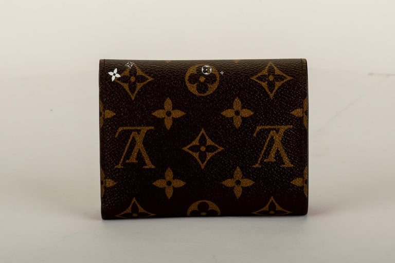 Black New in Box Louis Vuitton Limited Edition Wallet Megeve Xmas 2019 For Sale