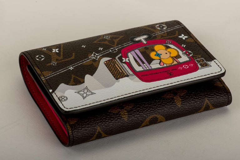 New in Box Louis Vuitton Limited Edition Wallet Megeve Xmas 2019 In New Condition For Sale In West Hollywood, CA