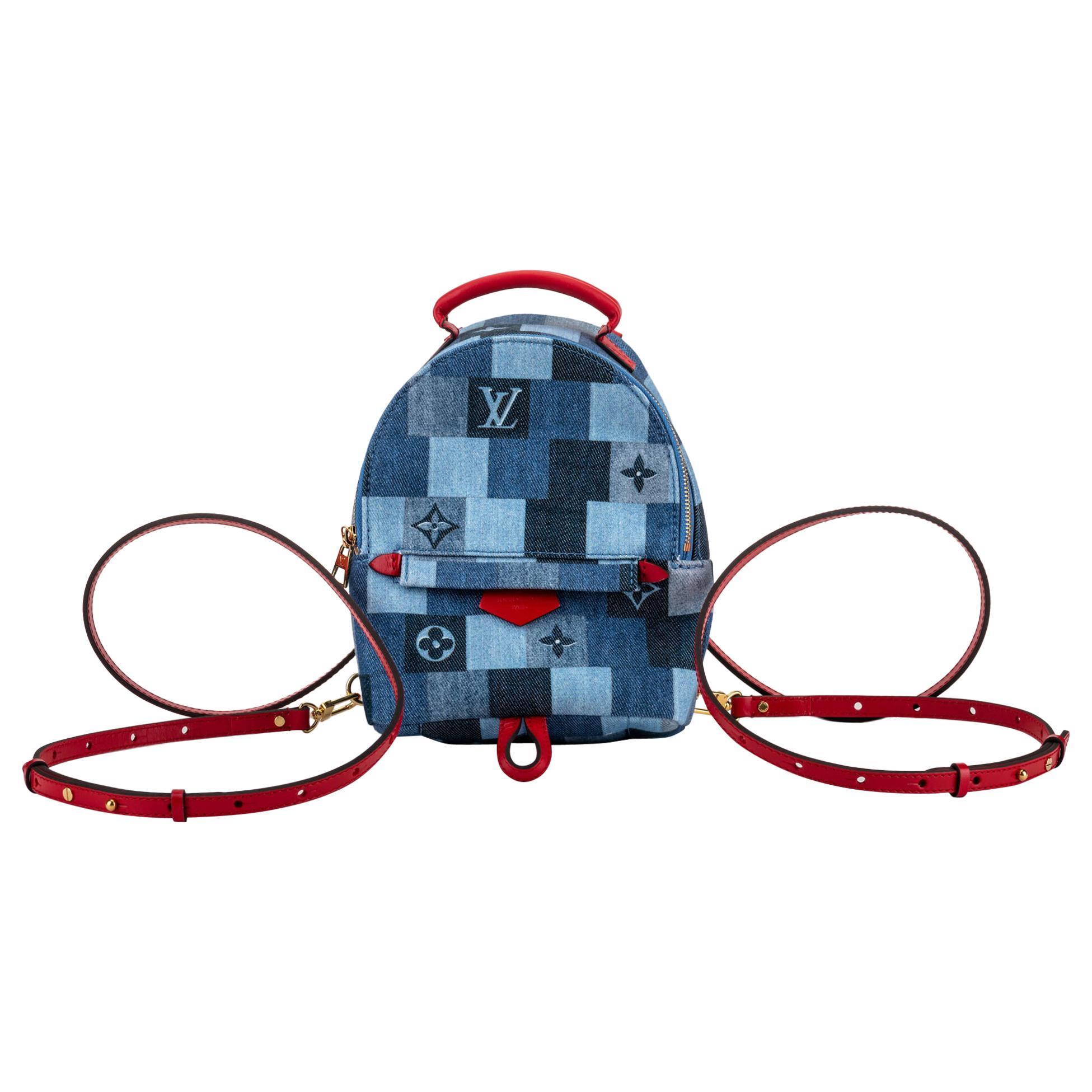 New in Box Louis Vuitton Monogram Denim Backpack Bag