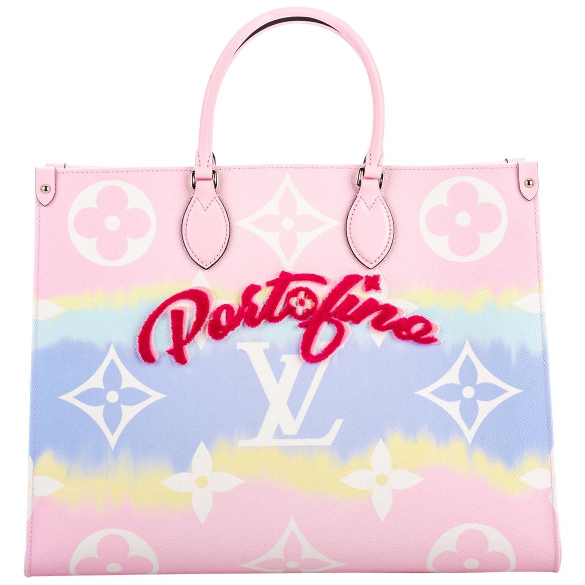 New in Box Louis Vuitton Portofino On The Go Limited Edition Bag