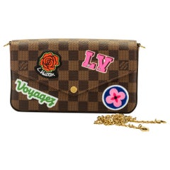 New in Box Louis Vuitton Stickers Felicie Crossbody