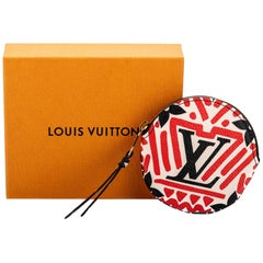 New in Box Louis Vuitton Tribal Round Coin Case