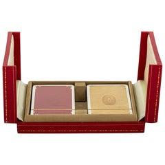 New in Box Must De Cartier Playing Cards