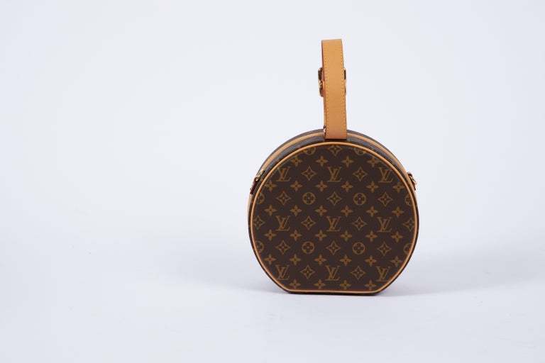 New in Box Vuitton Monogram Mini Hatbox In New Condition For Sale In West Hollywood, CA