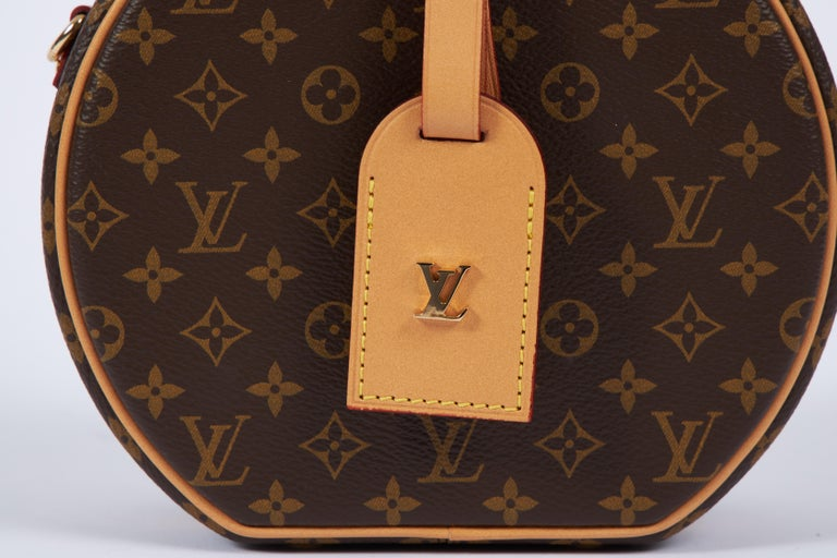 New in Box Vuitton Monogram Mini Hatbox For Sale 1
