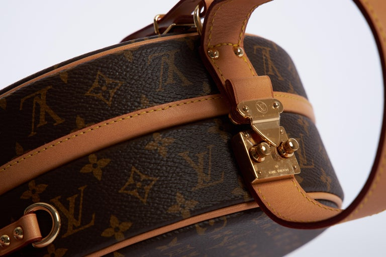 New in Box Vuitton Monogram Mini Hatbox For Sale 2