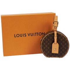 New in Box Vuitton Monogram Mini Hatbox