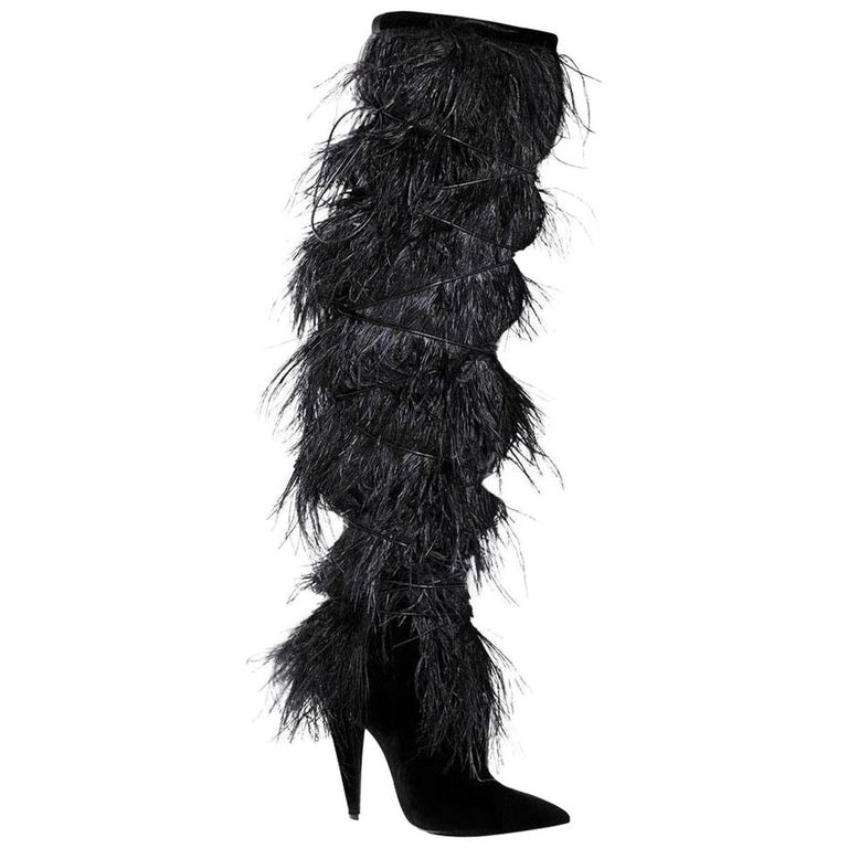 Yves Saint Laurent boots, 21st century, offered by Runway Catalog