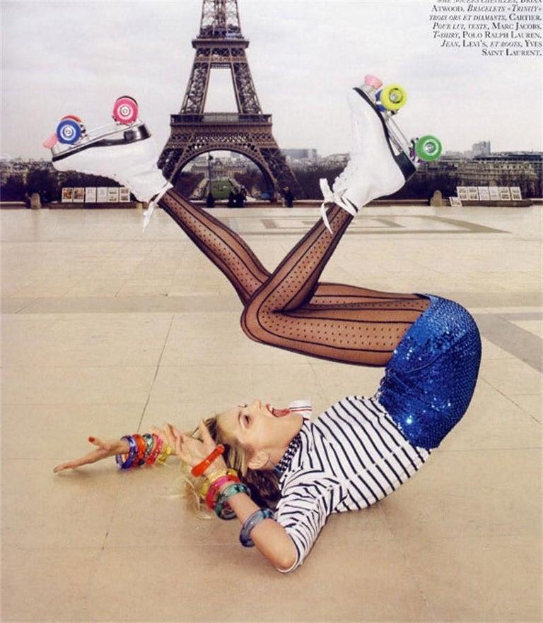 New Incredibly Rare Limited Edition Saint Laurent Celebrity Roller Skates Sz 40 For Sale 9