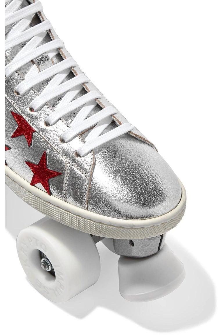 New Incredibly Rare Limited Edition Saint Laurent Celebrity Roller Skates Sz 40 For Sale 1