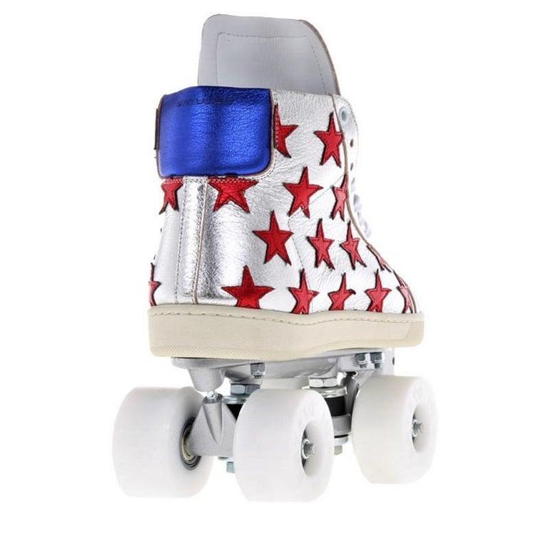 New Incredibly Rare Limited Edition Saint Laurent Celebrity Roller Skates Sz 40 For Sale 2