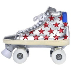 New Incredibly Rare Limited Edition Saint Laurent Celebrity Roller Skates Sz 40
