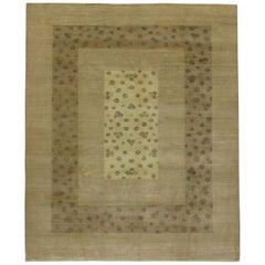 Neuer Indischer Teppich im Modernen Transitional Stil