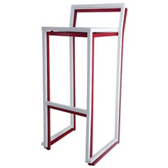 New Industrial Wrought Iron Shop Stacking Stool