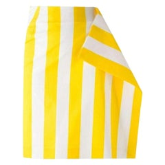 New Jacquemus Side Flat Striped Skirt FR36 US 2-4