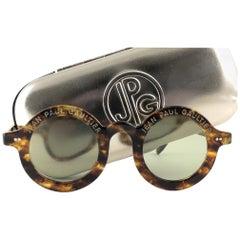 New Jean Paul Gaultier 56 0071 Round Tortoise Iconic 90's Japan JPG Sunglasses