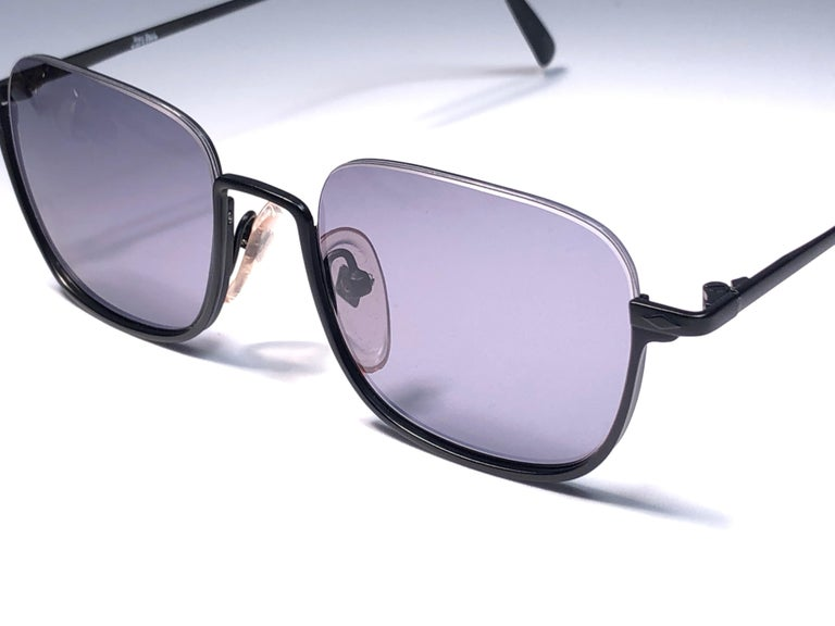 Women's or Men's New Jean Paul Gaultier Half Frame Sunglasses 1990's Made in Japan  For Sale
