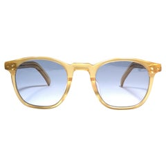 New Jean Paul Gaultier Junior 57 0071  Translucent Sunglasses 1990 Japan