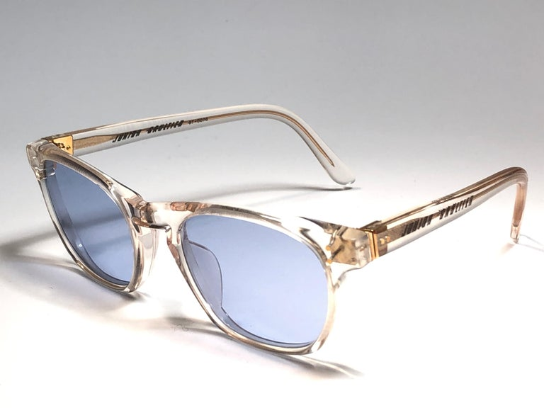 New Jean Paul Gaultier Junior 57 0073  Translucent Sunglasses 1990 Japan  In New Condition For Sale In Amsterdam, Noord Holland