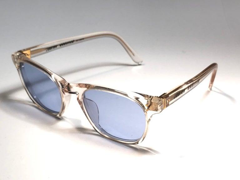 New Jean Paul Gaultier Junior 57 0073  Translucent Sunglasses 1990 Japan  For Sale 1