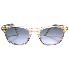 New Jean Paul Gaultier Junior 57 0073  Translucent Sunglasses 1990 Japan