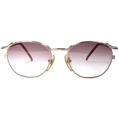 New Jean Paul Gaultier Junior 57 2276 Rose Gold Sunglasses 1990's Japan