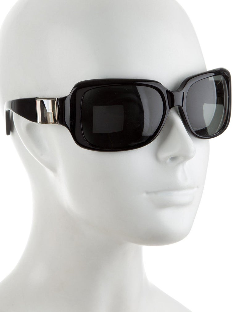 New Jimmy Choo Swarovski Sunglasses With Case & Box $595 For Sale 1