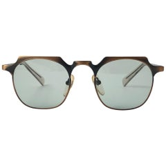 New Junior Gaultier 57 0171 Copper Sunglasses 1990's Made in Japan