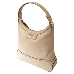 New Kate Spade Spring 2005 Large Off White Leather Bag