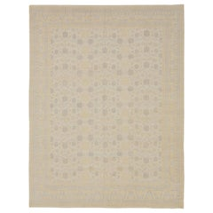 New Khotan Style Afghan Area Rug with '17th-Century' Look