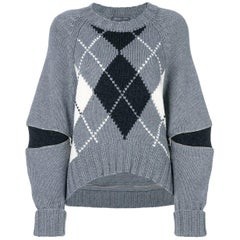 New Laura Dern Big Little Lies Alexander McQueen Argyle Sweater  $1295