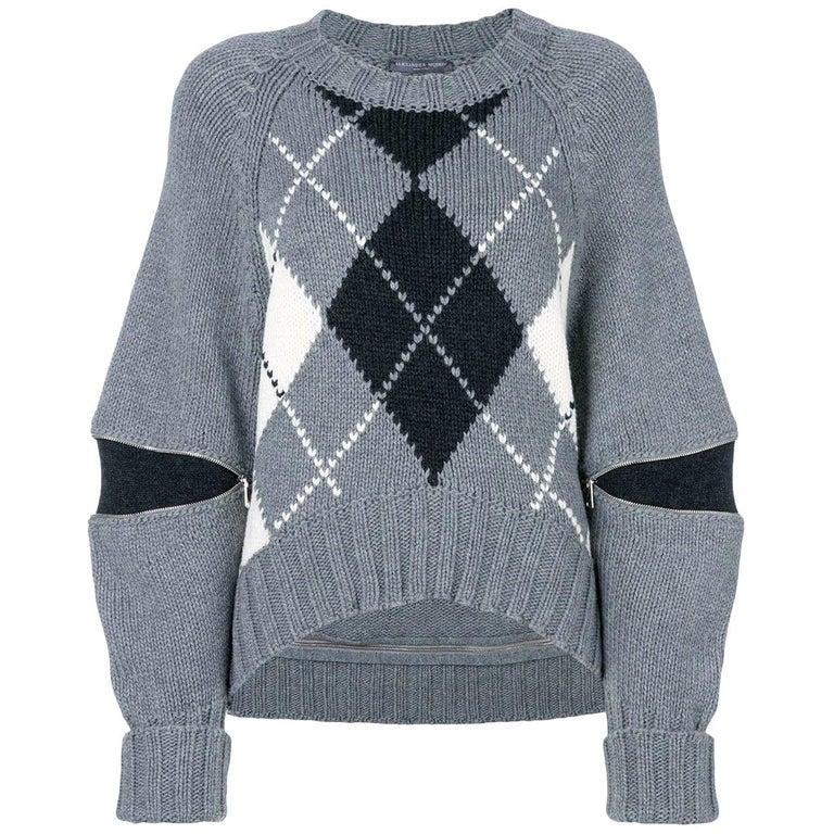 New Laura Dern Big Little Lies Alexander McQueen Argyle Sweater  $1295 For Sale