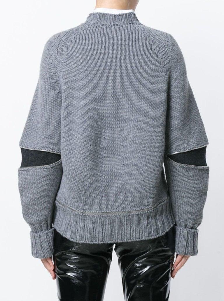 New Laura Dern Big Little Lies Alexander McQueen Argyle Sweater Sz L $1295 1