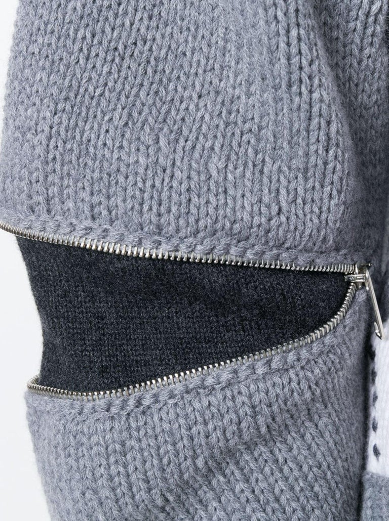 New Laura Dern Big Little Lies Alexander McQueen Argyle Sweater Sz L $1295 2