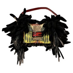 New Limited Edition Number 43 of 44 Fendi Bird Baguette Bag With Tags