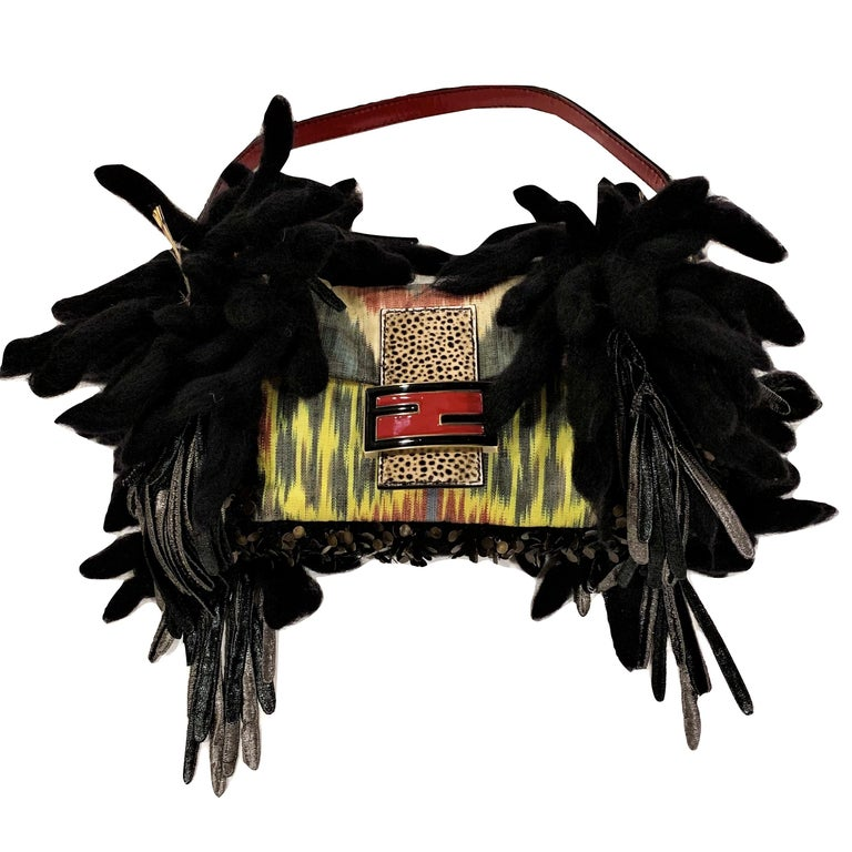 New Limited Edition Number 43 of 44 Fendi Bird Baguette With Tags For Sale