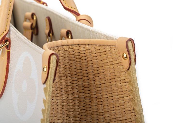 New Louis Vuitton 2021 On The Go Saint Tropez Bag For Sale 11